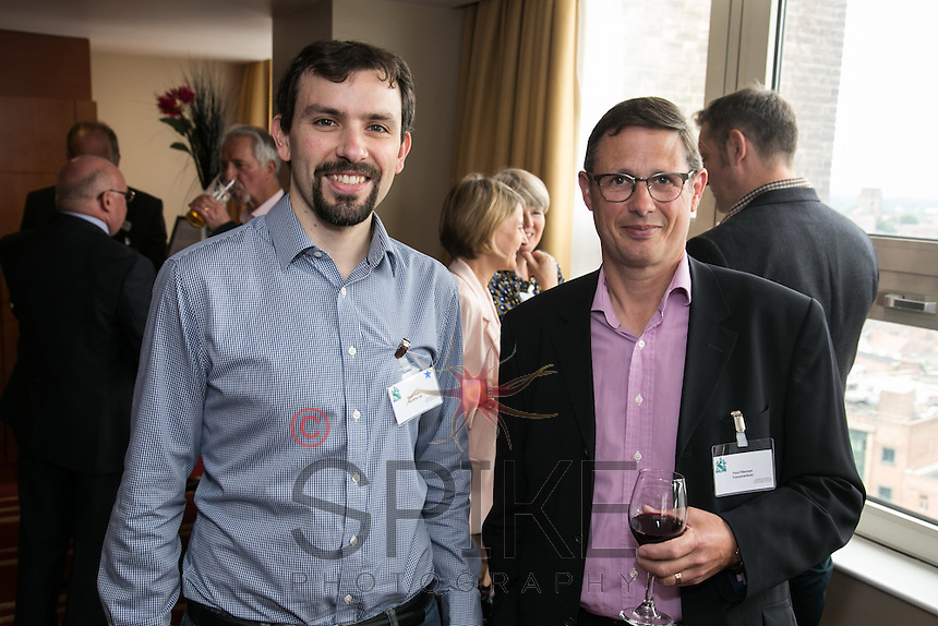 Steve Haley of MultiPie (left) and Paul Fileman of Transmentum