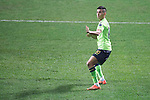 Leonardo Rodriguez Pereira of Jeonbuk Hyundai Motors (KOR) celebrates after scoring his second goal against Al Ain (UAE) during their 2016 AFC Champions League Final 1st Leg match at Jeonju World Cup Stadium on 19 November 2016, in Jeonju, South Korea. Photo by Stringer / Power Sport Images