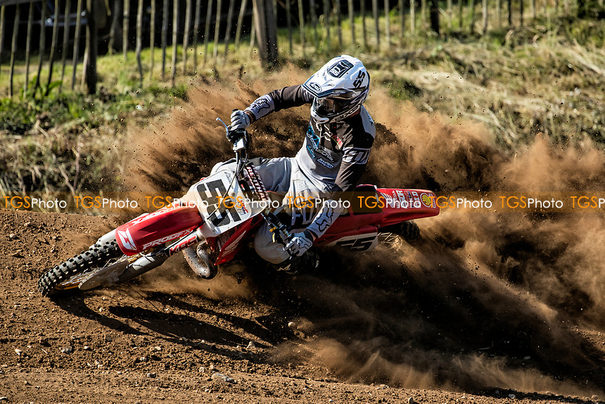 Steve Bixby, South Eastern EVO in action during the Richard Fitch Memorial Trophy Motocross at Wakes Colne MX Circuit on 18th July 2021