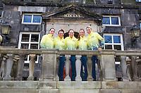 April 17, 2015, Netherlands, Den Bosch, Maaspoort, Fedcup Netherlands-Australia,  Australian team<br /> Photo: Tennisimages/Henk Koster