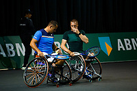 Rotterdam, The Netherlands, 11 Februari 2020, ABNAMRO World Tennis Tournament, Ahoy, <br /> Wheelchair tennis: Tom Egberink (NED) / Maikel Scheffers (NED).<br /> Photo: www.tennisimages.com