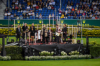 The Opening Ceremony. 2021 GER-CHIO Aachen Weltfest des Pferdesports. Aachen, Germany. Tuesday 14 September 2021. Copyright Photo: Libby Law Photography
