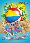 Lori, STILL LIFE STILLEBEN, NATURALEZA MORTA, paintings+++++1-Beachball,USLS78,#i#, EVERYDAY,beach,fun,summer