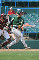 University of South Florida Bulls infielder Lawrence Pardo (42) during a game against the Temple University Owls at Campbell's Field on April 13, 2014 in Camden, New Jersey. USF defeated Temple 6-3.  (Tomasso DeRosa/ Four Seam Images)