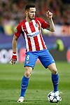 Atletico de Madrid's Saul Niguez during Champions League 2016/2017 Round of 16 2nd leg match. March 15,2017. (ALTERPHOTOS/Acero)