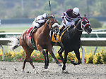 29 July 2009: Wolf Tail (2yo c by Strive) wins the Graduation Stakes under jockey Joel Rosario, defeating Grace Upon Grace and Victor Espinoza (rail) at Del Mar Race Track, Del Mar, CA