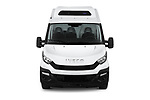 Car photography straight front view of a 2018 Iveco Daily 35S 4 Door Cargo Van Front View