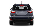 Straight rear view of a 2018 Ford EcoSport SE 5 Door SUV stock images
