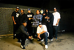 Portraits and live photographs of rapper, Ice T and his band, Body Count.