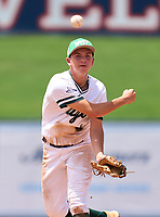 Seacrest Country Day Stingrays Matt Riley (4) during the 42nd Annual FACA All-Star Baseball Classic on June 6, 2021 at Joker Marchant Stadium in Lakeland, Florida.  (Mike Janes/Four Seam Images)