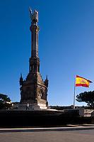 Spanien, Kolumbus-Denkmal auf der Plaza Colon in Madrid