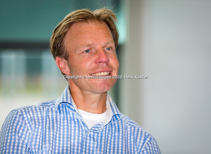 Amstelveen, Netherlands, 29 September, 2020, National Tennis Center, NTC, KNLTB Managing board, Managing Director Erik Poel.<br /> Photo: Henk Koster/tennisimages.com