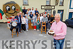 Michael Parker (front right) gets a surprise 50th birthday party from his family in Kilflynn on Sunday.
