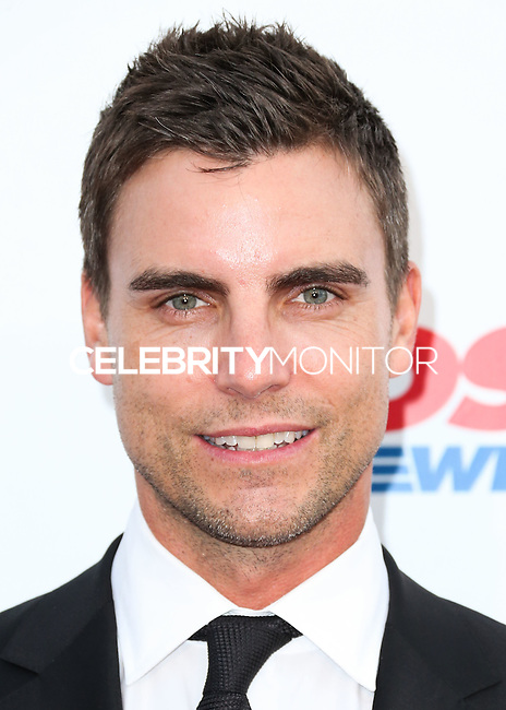 LOS ANGELES, CA, USA - OCTOBER 11: Colin Egglesfield arrives at the Children's Hospital Los Angeles' Gala Noche De Ninos 2014 held at the L.A. Live Event Deck on October 11, 2014 in Los Angeles, California, United States. (Photo by Xavier Collin/Celebrity Monitor)
