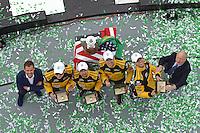 28-31 January, 2016, Daytona Beach, Florida USA<br /> Victory Lane / Podium: 85, Chevrolet, ORECA FLM09, PC, Chris Miller, Mikhail Goikhberg, Stephen Simpson, Kenton Koch<br /> ©2016, F. Peirce Williams