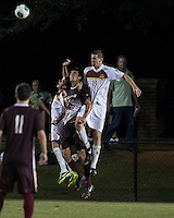 The Winthrop University Eagles played the College of Charleston Cougars at Eagles Field in Rock Hill, SC.  College of Charleston broke the 1-1 tie with a goal in the 88th minute to win 2-1.  Kyle Kennedy (19), Tucker Coons (3)