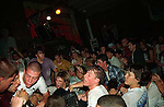 Youth of Today at Gilman Street. Tim Monroe at left with white shirt and buzz cut.<br />