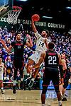 2018-12-16 NCAA: Northeastern Huskies at Vermont Men's Basketball