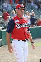 Ryne Sandberg Manager Tennessee Smokies (Chicago Cubs) during the Southern League Playoffs at Smokies Park in Sevierville, TN September 13, 2009 (Photo by Tony Farlow/ Four Seam Images)
