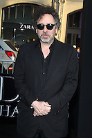 Tim Burton at the premiere of Warner Bros. Pictures' 'Dark Shadows' at Grauman's Chinese Theatre on May 7, 2012 in Hollywood, California. ©mpi26/ MediaPunch Inc.