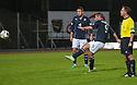 Dundee's Peter MacDonald scores their second goal.