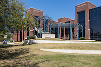 New Orleans, Louisiana.  Loyola University Communication and Music Complex.  Uptown District.