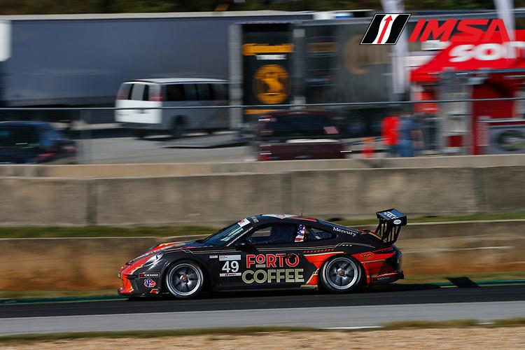 IMSA Porsche GT3 Cup Challenge USA<br /> Road Atlanta<br /> Road Atlanta, Braselton GA<br /> Friday 6 October 2017<br /> 49, Sebastian Landy, GT3P, USA, 2017 Porsche 991<br /> World Copyright: Jake Galstad<br /> LAT Images