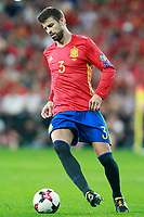 Spain's Gerard Pique during FIFA World Cup 2018 Qualifying Round match. September 2,2017.(ALTERPHOTOS/Acero)