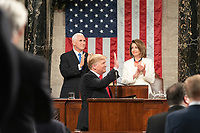 2019 State of the Union<br /> <br /> President Donald J. Trump delivers his State of the Union address at the U.S. Capitol, Tuesday, Feb. 5, 2019, in Washington, D.C. (Official White House Photo by D. Myles Cullen)