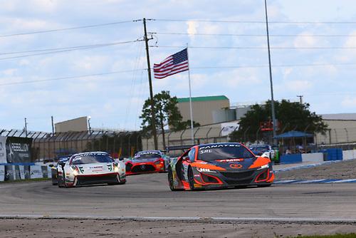Compass Racing Acura NSX GT3 Evo:Rodrigo Sales, Matt McMurry