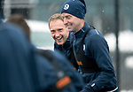 St Johnstone Training…19.01.18<br />Steven Anderson and Steven MacLean pictured in training this morning at McDiarmid Park ahead of tomorrow's Scottish Cup game against Albion Rovers<br />Picture by Graeme Hart.<br />Copyright Perthshire Picture Agency<br />Tel: 01738 623350  Mobile: 07990 594431