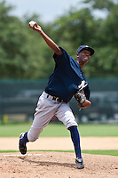 Justo Arias of the Gulf Coast League Yankees at the ESPN Wide World of Sports Complex in Orlando, Florida July 23 2010. Photo By Scott Jontes/Four Seam Images