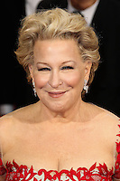 HOLLYWOOD, LOS ANGELES, CA, USA - MARCH 02: Bette Midler at the 86th Annual Academy Awards held at Dolby Theatre on March 2, 2014 in Hollywood, Los Angeles, California, United States. (Photo by Xavier Collin/Celebrity Monitor)