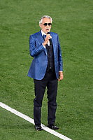 Andrea Bocelli performs during the opening ceremony of the Uefa Euro 2020 european football championships before the match between Turkey and Italy at stadio Olimpico in Rome (Italy), June 11th, 2021. Photo Andrea Staccioli / Insidefoto