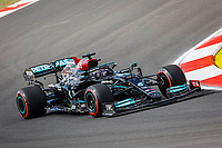 44 HAMILTON Lewis (gbr), Mercedes AMG F1 GP W12 E Performance, action during the Formula 1 Rolex Turkish Grand Prix 2021, 16th round of the 2021 FIA Formula One World Championship from October 8 to 10, 2021 on the Istanbul Park, in Tuzla, Turkey -<br /> Formula 1 Turkish GP 08/10/2021<br /> Photo DPPI/Panoramic/Insidefoto <br /> ITALY ONLY