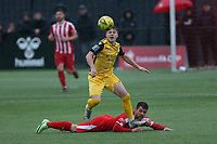Charlie Ruff of Hornchurch during Bowers & Pitsea vs Hornchurch, Emirates FA Cup Football at The Len Salmon Stadium on 2nd October 2021