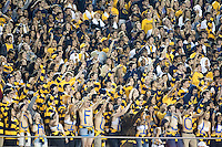BERKELEY, CA - September 17, 2016: Cal fans cheer during a game against Texas at  Cal Memorial Stadium.