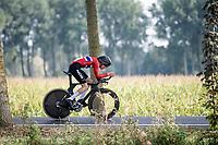 Trym Brennsæter (NOR)<br /> <br /> Junior Men Individual Time Trial from Knokke-Heist to Bruges (22.3 km)<br /> <br /> UCI Road World Championships - Flanders Belgium 2021<br /> <br /> ©kramon