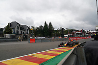 27th August 2021; Spa Francorchamps, Stavelot, Belgium: FIA F1 Grand Prix of Belgium, free practise:   Max Verstappen NEL 33 , Red Bull Racing