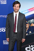 """HOLLYWOOD, LOS ANGELES, CA, USA - AUGUST 07: Jon Lajoie at the Los Angeles Premiere Of 20th Century Fox's """"Let's Be Cops"""" held at ArcLight Cinemas Cinerama Dome on August 7, 2014 in Hollywood, Los Angeles, California, United States. (Photo by Xavier Collin/Celebrity Monitor)"""