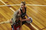 NELSON, NEW ZEALAND -JUNE 21: ANZ Premiership Tactix v Magic,Trafalgar Centre,Monday 21 June 2021,Nelson New Zealand. (Photo by Evan Barnes Shuttersport Limited)