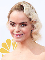 LOS ANGELES, CA, USA - AUGUST 25: Actress Taryn Manning arrives at the 66th Annual Primetime Emmy Awards held at Nokia Theatre L.A. Live on August 25, 2014 in Los Angeles, California, United States. (Photo by Celebrity Monitor)