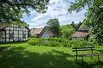 Germany, Thuringia, Kloster Vessra: Abbey Vessra and open-air-museum | Deutschland, Thueringen, Kloster Vessra: Klosteranlage und Freilichtmuseum