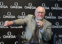 Apollo 13 astronaut James Lovell attends press conference at OMEGA in Tokyo