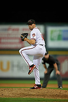 Richmond Flying Squirrels relief pitcher Tyler Cyr (51) during an Eastern League game against the Binghamton Rumble Ponies on May 29, 2019 at The Diamond in Richmond, Virginia.  Binghamton defeated Richmond 9-5 in ten innings.  (Mike Janes/Four Seam Images)