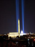Washington Monument On The Eve Of Presidential Inauguration of Joe Biden
