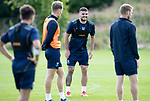St Johnstone Training….09.08.18<br />Tony Watt pictured during training at McDiarmid Park ahead of Sunday's game against Hibs<br />Picture by Graeme Hart.<br />Copyright Perthshire Picture Agency<br />Tel: 01738 623350  Mobile: 07990 594431