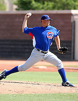 Billy Petrick / Chicago Cubs 2008 Instructional League..Photo by:  Bill Mitchell/Four Seam Images