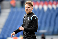 Ciro Immobile of SS Lazio reacts during the warm up prior to the Serie A football match between SS Lazio and ACF Fiorentina at Olimpico stadium in Roma (Italy), January 6th, 2021. Photo Andrea Staccioli / Insidefoto