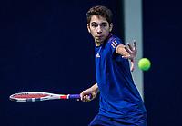 Hilversum, Netherlands, December 2, 2018, Winter Youth Circuit Masters, Zacharias Alpassa (NED)<br /> Photo: Tennisimages/Henk Koster